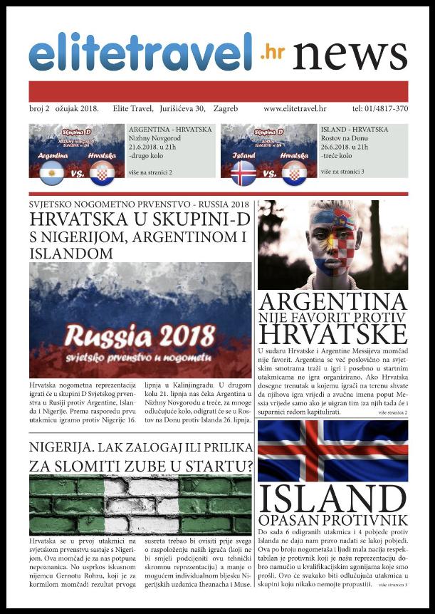 Vijesti u obliku dnevnih novina