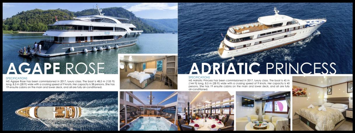 Turistička brošura brodova